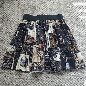 Edgar Allan Poe Inspired Skirt